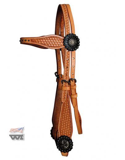 Cowboy Headstall HS-D-118