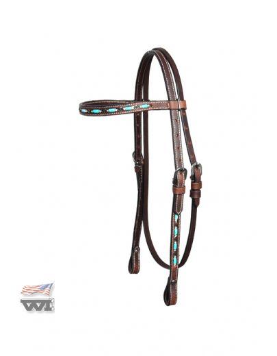 Headstall, Zuni Design HS-D-128