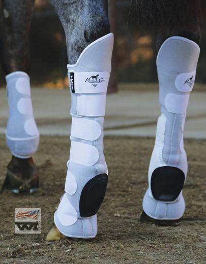 VenTech Skid Boots Tall Tops - White