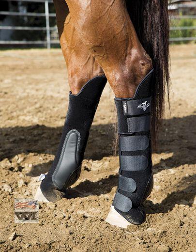 VenTech Skid Boots Tall Tops - Black