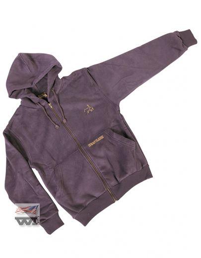 130-BER Zip Jacket Berry