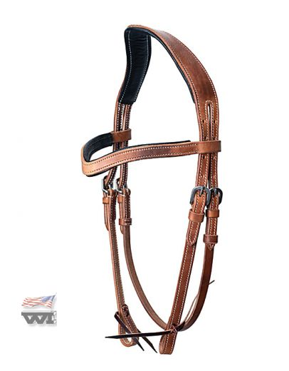 ANATOMICALLY SHAPED HEADSTALL, HARNESS