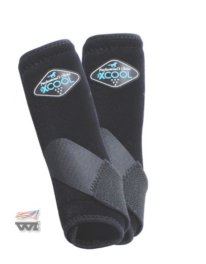 2X COOL FRONTBOOTS   Black