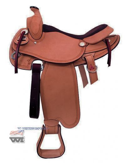 Timber Trail Saddle #4575-CHES