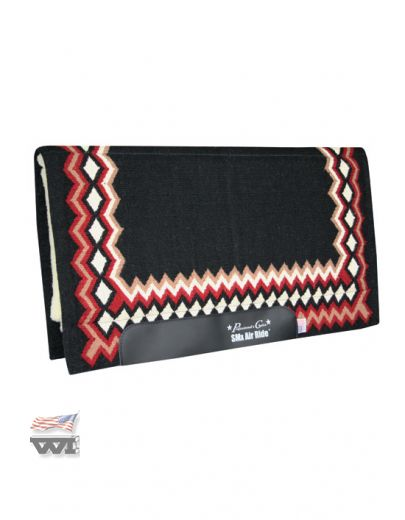SHILLOH Pad Black-Crimson