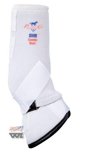 SMBC - Combo Boots - White