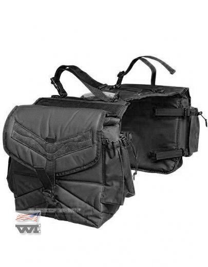 SB-2 Satteltasche schwarz