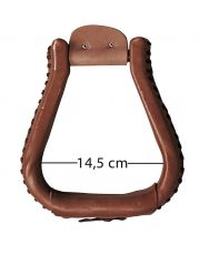 Leather Stirrups XL 62137-DO