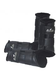 Leather Protection boots - Black
