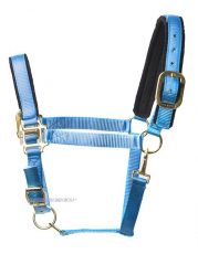 Tuff Stuff Halter , Pacific blue