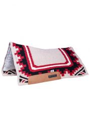 CSF Comfort Saddle Fit Pad DESERT RAIN , CRIMSON