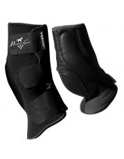 VenTech Short Skid Boots - Black